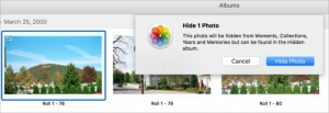 How to delete images from Photos for macOS without getting rid of them