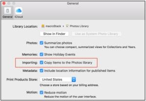 Why Photos for macOS can't find an imported image
