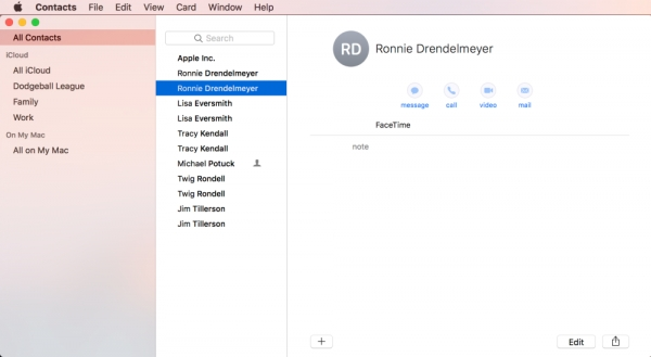 How to remove and merge duplicate contacts