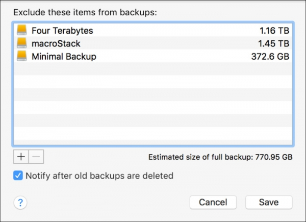 How to make sure Time Machine backs up external drives